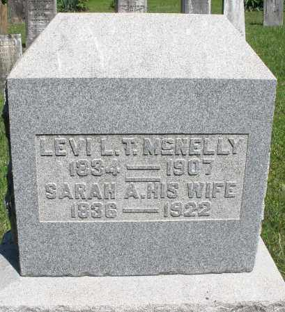 MCNELLY, LEVI L. - Montgomery County, Ohio | LEVI L. MCNELLY - Ohio Gravestone Photos