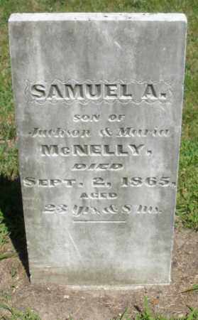 MCNELLY, SAMUEL A. - Montgomery County, Ohio | SAMUEL A. MCNELLY - Ohio Gravestone Photos
