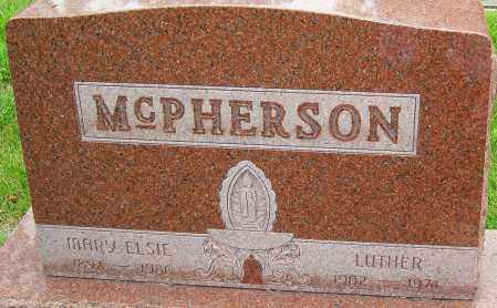 MCPHERSON, MARY ELSIE - Montgomery County, Ohio | MARY ELSIE MCPHERSON - Ohio Gravestone Photos