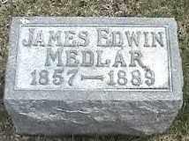 MEDLAR, JAMES EDWIN - Montgomery County, Ohio | JAMES EDWIN MEDLAR - Ohio Gravestone Photos