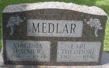 MEDLAR, VIRGINIA - Montgomery County, Ohio | VIRGINIA MEDLAR - Ohio Gravestone Photos