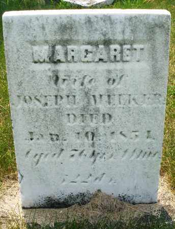 MEEKER, MARGARET - Montgomery County, Ohio | MARGARET MEEKER - Ohio Gravestone Photos