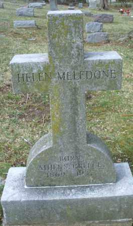 MELEDONE, HELEN - Montgomery County, Ohio | HELEN MELEDONE - Ohio Gravestone Photos