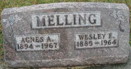 MELLING, WESLEY E. - Montgomery County, Ohio | WESLEY E. MELLING - Ohio Gravestone Photos