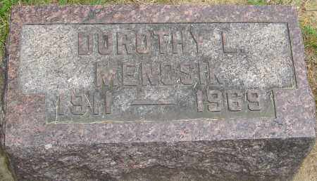 MENCSIK, DOROTHY L - Montgomery County, Ohio | DOROTHY L MENCSIK - Ohio Gravestone Photos