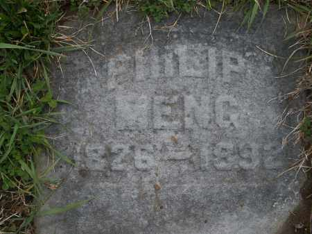 MENG, PHILIP - Montgomery County, Ohio | PHILIP MENG - Ohio Gravestone Photos