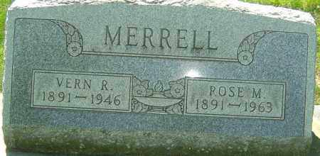 MERRELL, ROSE M - Montgomery County, Ohio | ROSE M MERRELL - Ohio Gravestone Photos
