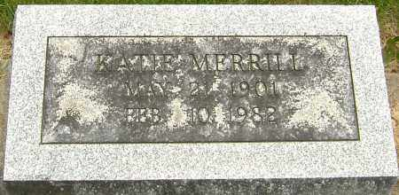 MERRILL, KATIE - Montgomery County, Ohio | KATIE MERRILL - Ohio Gravestone Photos