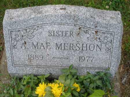 MERSHON, A. MAE - Montgomery County, Ohio | A. MAE MERSHON - Ohio Gravestone Photos