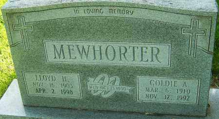 MEWHORTER, GOLDIE A - Montgomery County, Ohio | GOLDIE A MEWHORTER - Ohio Gravestone Photos