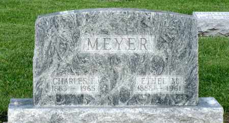 MEYER, CHARLES F. - Montgomery County, Ohio | CHARLES F. MEYER - Ohio Gravestone Photos