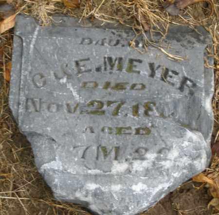 MEYER, DAUGHTER - Montgomery County, Ohio | DAUGHTER MEYER - Ohio Gravestone Photos