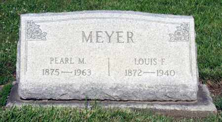 MEYER, LOUIS F. - Montgomery County, Ohio | LOUIS F. MEYER - Ohio Gravestone Photos