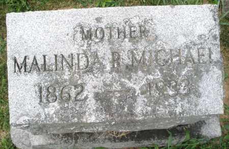 MICHAEL, MALINDA R. - Montgomery County, Ohio | MALINDA R. MICHAEL - Ohio Gravestone Photos