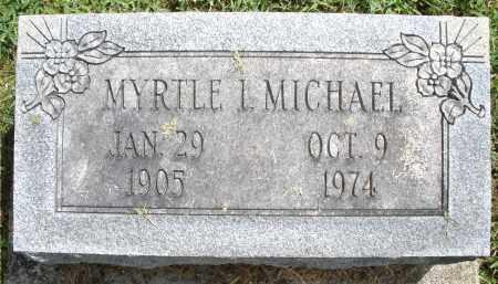 MICHAEL, MYRTLE I. - Montgomery County, Ohio | MYRTLE I. MICHAEL - Ohio Gravestone Photos