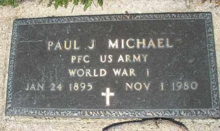 MICHAEL, PAUL J. - Montgomery County, Ohio | PAUL J. MICHAEL - Ohio Gravestone Photos