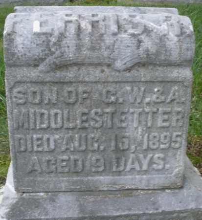 MIDDLESTETTER, FERRIS R. - Montgomery County, Ohio | FERRIS R. MIDDLESTETTER - Ohio Gravestone Photos