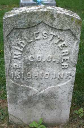 MIDDLESTETTER, P. - Montgomery County, Ohio | P. MIDDLESTETTER - Ohio Gravestone Photos