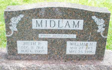 MIDLAM, RUTH P. - Montgomery County, Ohio | RUTH P. MIDLAM - Ohio Gravestone Photos