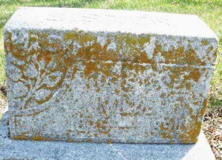 MILLER, ? - Montgomery County, Ohio | ? MILLER - Ohio Gravestone Photos