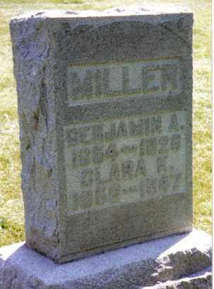 MILLER, CLARA K. - Montgomery County, Ohio | CLARA K. MILLER - Ohio Gravestone Photos
