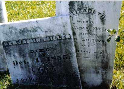 MILLER, BENJAMIN - Montgomery County, Ohio | BENJAMIN MILLER - Ohio Gravestone Photos