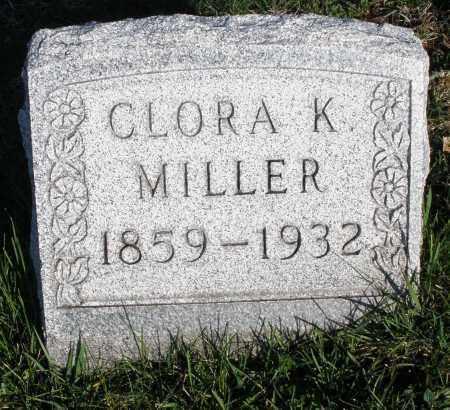 MILLER, CLORA K. - Montgomery County, Ohio | CLORA K. MILLER - Ohio Gravestone Photos