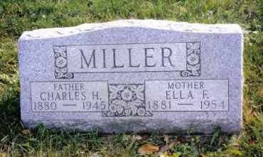 MILLER, CHARLES H. - Montgomery County, Ohio | CHARLES H. MILLER - Ohio Gravestone Photos