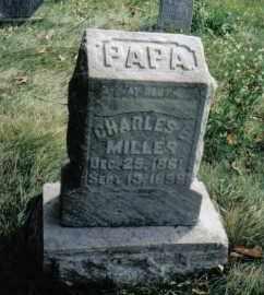 MILLER, CHARLES E. - Montgomery County, Ohio | CHARLES E. MILLER - Ohio Gravestone Photos