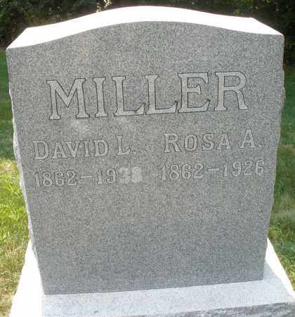 MILLER, DAVID L. - Montgomery County, Ohio | DAVID L. MILLER - Ohio Gravestone Photos