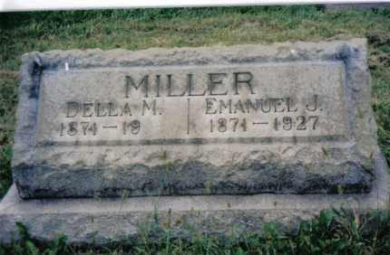 MILLER, EMANUEL J. - Montgomery County, Ohio | EMANUEL J. MILLER - Ohio Gravestone Photos
