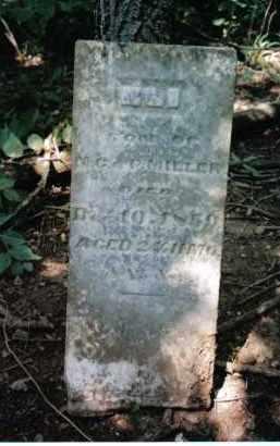 MILLER, ELI - Montgomery County, Ohio | ELI MILLER - Ohio Gravestone Photos