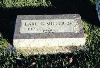 MILLER, EARL C., JR. - Montgomery County, Ohio | EARL C., JR. MILLER - Ohio Gravestone Photos