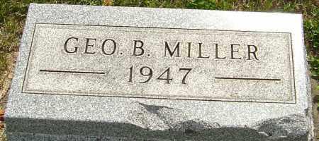 MILLER, GEORGE BENTON - Montgomery County, Ohio | GEORGE BENTON MILLER - Ohio Gravestone Photos