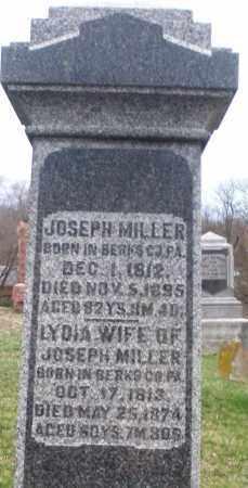 MILLER, JOSEPH - Montgomery County, Ohio | JOSEPH MILLER - Ohio Gravestone Photos