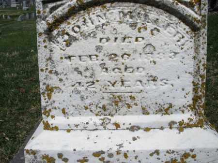 MILLER, JOHN - Montgomery County, Ohio | JOHN MILLER - Ohio Gravestone Photos