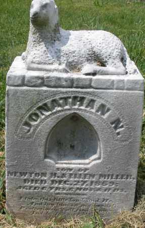MILLER, JONATHAN N. - Montgomery County, Ohio | JONATHAN N. MILLER - Ohio Gravestone Photos