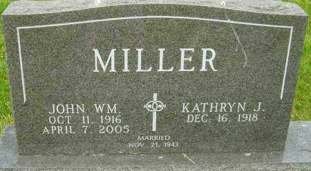 MILLER, JOHN WILLIAM - Montgomery County, Ohio | JOHN WILLIAM MILLER - Ohio Gravestone Photos