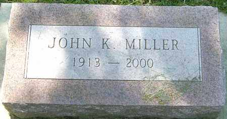 MILLER, JOHN K - Montgomery County, Ohio | JOHN K MILLER - Ohio Gravestone Photos