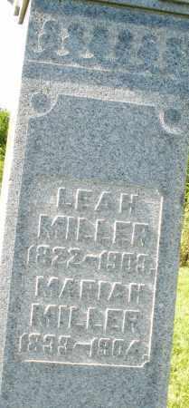 MILLER, MARIAH - Montgomery County, Ohio | MARIAH MILLER - Ohio Gravestone Photos
