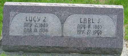 DAVIS MILLER, LUCY Z - Montgomery County, Ohio | LUCY Z DAVIS MILLER - Ohio Gravestone Photos