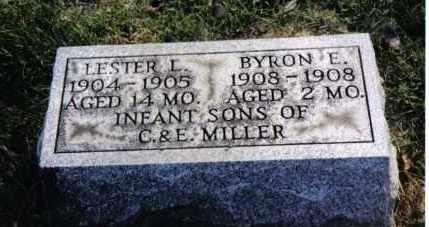 MILLER, BYRON E. - Montgomery County, Ohio | BYRON E. MILLER - Ohio Gravestone Photos