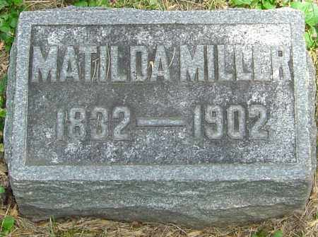 BRELSFORD MILLER, MATILDA - Montgomery County, Ohio | MATILDA BRELSFORD MILLER - Ohio Gravestone Photos