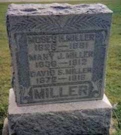 MILLER, DAVID S. - Montgomery County, Ohio | DAVID S. MILLER - Ohio Gravestone Photos