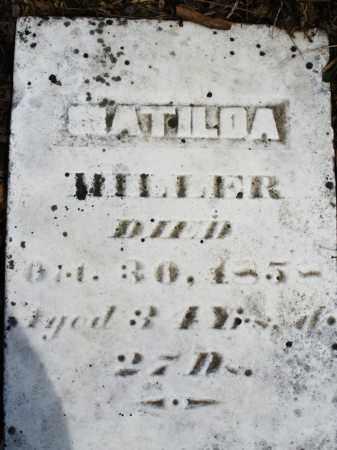 MILLER, MATILDA - Montgomery County, Ohio | MATILDA MILLER - Ohio Gravestone Photos