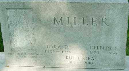 MILLER, RUTH IORA - Montgomery County, Ohio | RUTH IORA MILLER - Ohio Gravestone Photos