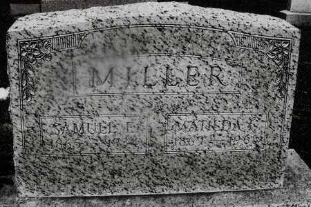 MILLER, MATILDA C. - Montgomery County, Ohio | MATILDA C. MILLER - Ohio Gravestone Photos