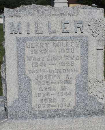 MILLER, MARY J. - Montgomery County, Ohio | MARY J. MILLER - Ohio Gravestone Photos