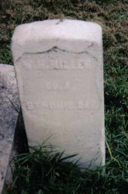 MILLER, W. H. - Montgomery County, Ohio   W. H. MILLER - Ohio Gravestone Photos
