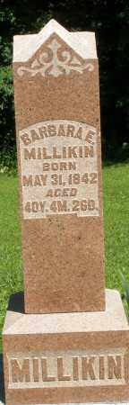 MILLIKIN, BARBARA E. - Montgomery County, Ohio | BARBARA E. MILLIKIN - Ohio Gravestone Photos